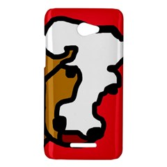 Artistic cow HTC Butterfly X920E Hardshell Case