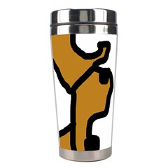 Artistic cow Stainless Steel Travel Tumblers