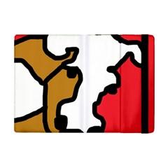 Artistic cow iPad Mini 2 Flip Cases