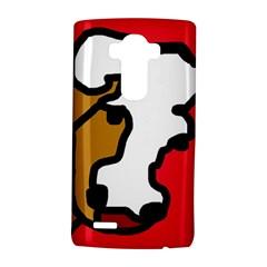 Artistic cow LG G4 Hardshell Case