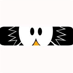 Black owl Large Bar Mats