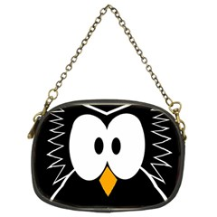 Black owl Chain Purses (Two Sides)
