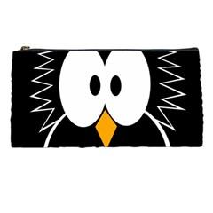 Black owl Pencil Cases