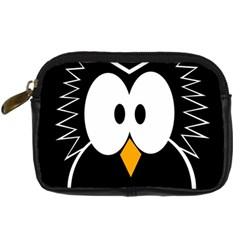 Black owl Digital Camera Cases