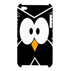 Black owl Apple iPod Touch 4