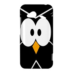 Black owl HTC Droid Incredible 4G LTE Hardshell Case