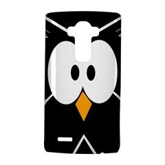Black owl LG G4 Hardshell Case