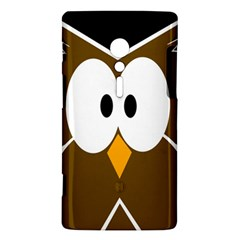 Brown simple owl Sony Xperia ion