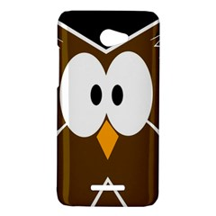 Brown simple owl HTC Butterfly X920E Hardshell Case