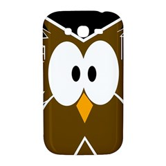 Brown simple owl Samsung Galaxy Grand DUOS I9082 Hardshell Case