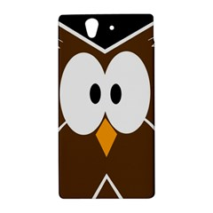Brown simple owl Sony Xperia Z