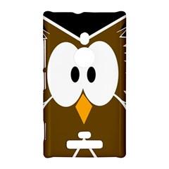 Brown simple owl Nokia Lumia 925