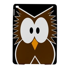 Brown simple owl iPad Air 2 Hardshell Cases