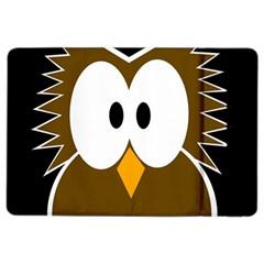 Brown simple owl iPad Air 2 Flip