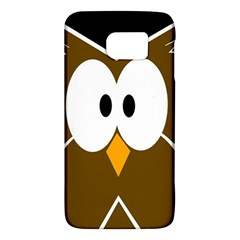 Brown simple owl Galaxy S6