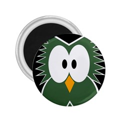 Green owl 2.25  Magnets