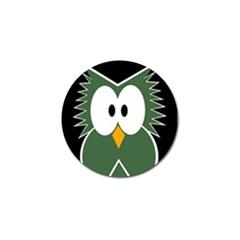 Green owl Golf Ball Marker (10 pack)
