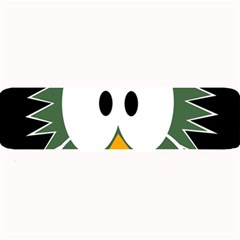 Green owl Large Bar Mats