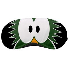 Green owl Sleeping Masks