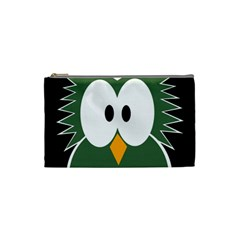 Green owl Cosmetic Bag (Small)