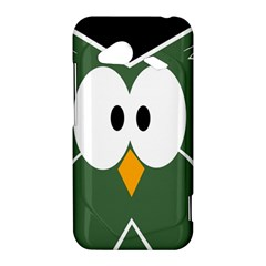 Green owl HTC Droid Incredible 4G LTE Hardshell Case
