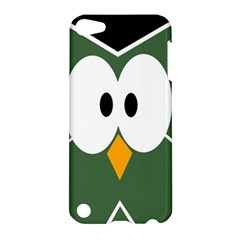 Green owl Apple iPod Touch 5 Hardshell Case