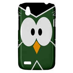Green owl HTC Desire V (T328W) Hardshell Case