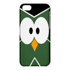 Green owl Apple iPhone 5C Hardshell Case