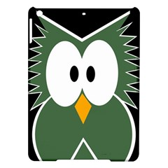 Green owl iPad Air Hardshell Cases