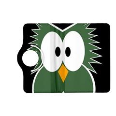 Green owl Kindle Fire HD (2013) Flip 360 Case