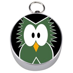 Green owl Silver Compasses