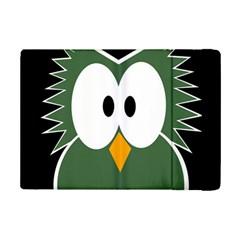 Green owl iPad Mini 2 Flip Cases