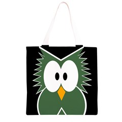 Green owl Grocery Light Tote Bag
