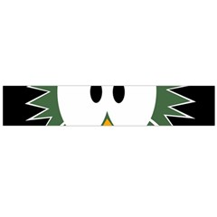 Green owl Flano Scarf (Large)