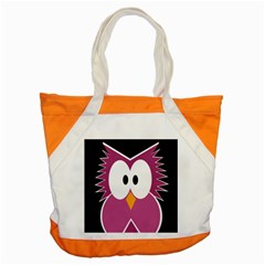 Pink owl Accent Tote Bag