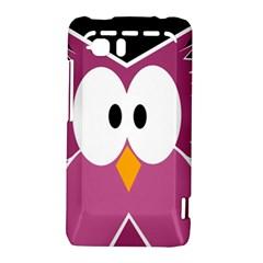 Pink owl HTC Vivid / Raider 4G Hardshell Case