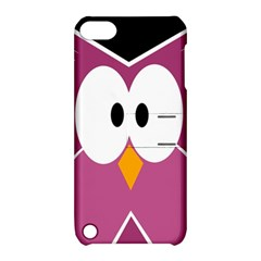 Pink owl Apple iPod Touch 5 Hardshell Case with Stand