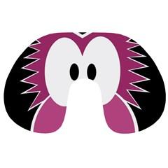 Pink owl Travel Neck Pillows