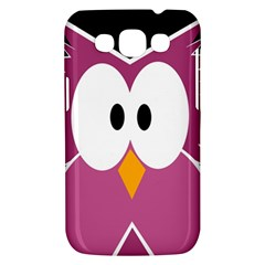 Pink owl Samsung Galaxy Win I8550 Hardshell Case