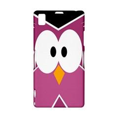 Pink owl Sony Xperia Z1