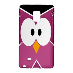 Pink owl Galaxy Note Edge
