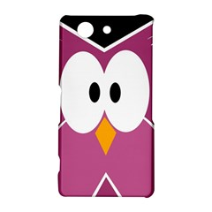 Pink owl Sony Xperia Z3 Compact