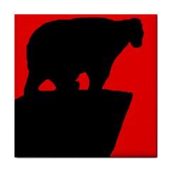 Bear Face Towel