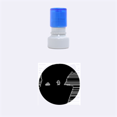 Bear Rubber Round Stamps (Small)