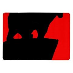 Bear Samsung Galaxy Tab 10.1  P7500 Flip Case