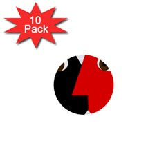 Kiss 1  Mini Buttons (10 pack)