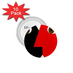 Kiss 1.75  Buttons (10 pack)