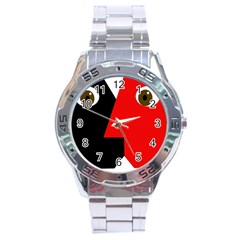 Kiss Stainless Steel Analogue Watch
