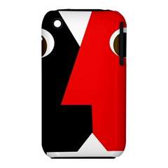 Kiss Apple iPhone 3G/3GS Hardshell Case (PC+Silicone)