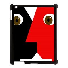 Kiss Apple iPad 3/4 Case (Black)